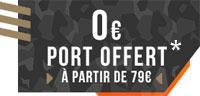 Port offert dès 79€ d'achat