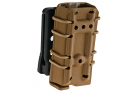 Porte chargeur Kydex 9mm Coyote Brown GK Tactical