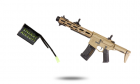 Power Pack M4 Amoeba AM-013 Tan ARES energy airsoft