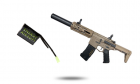 Power Pack M4 Amoeba AM-014 Tan ARES energy airsoft