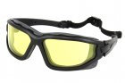 Protective glasses, Tactical, Dual Lens, Yellow