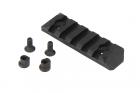 PTS Enhanced Rail Section (Keymod) 5 Slots - Black