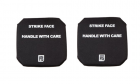 PTS Side Plate 6 x 6 (Left & Right) - Black