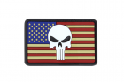 PVC Punisher Classic Flag Patches Condor