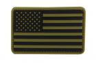 PVC US FLAG PATCH  MULTICAM