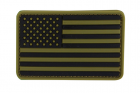 PVC US FLAG PATCH  MULTICAM