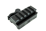 Rail tactique QD Rise Mount 5 Slot UTG