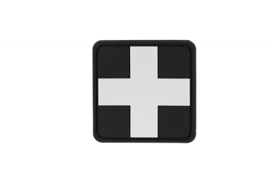 Red Cross Rubber Patch 25mm SWAT