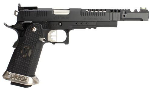 Réplique GBB hx2402 IPSC split black .38 supercomp - AW custom