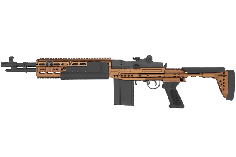 Réplique GR14 (M14) EBR Short ETU Bronze Version G&G AEG