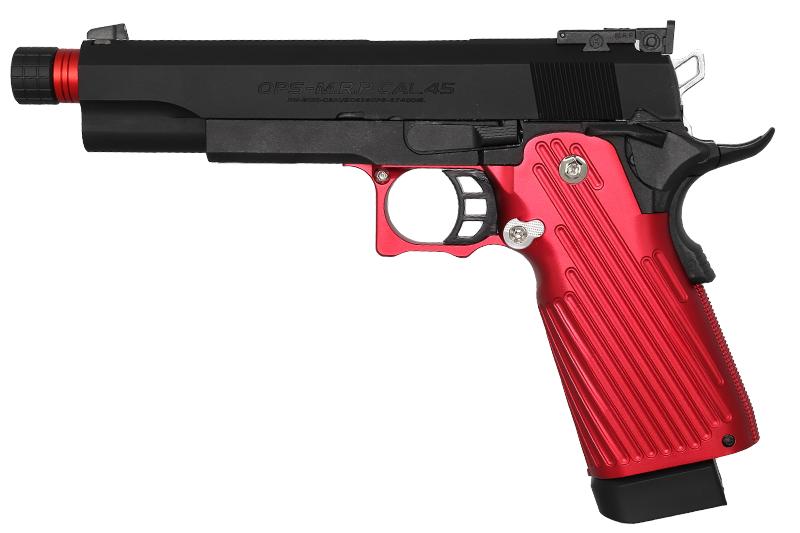 Réplique Hi-capa RED/BK Masterpiece Custom