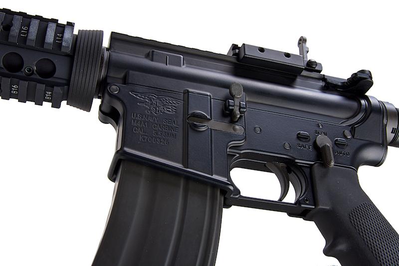 """Réplique M4 COLT RAS 14.5\"""" V2 NAVY SEAL GBBR GHK"""