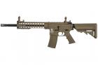 """Réplique M4 LT-19 GEN2 Keymod 10\"""" Tan Lancer Tactical AEG"""