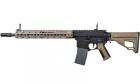 Réplique d'airsoft M4 AEG Octarms X Amoeba Bi-ton de marque ARES, avec garde main Keymod 13 pouces.