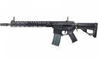 Réplique airsoft M4 AEG Octarms X Amoeba version noir avec garde main 13 pouces de marque ARES.
