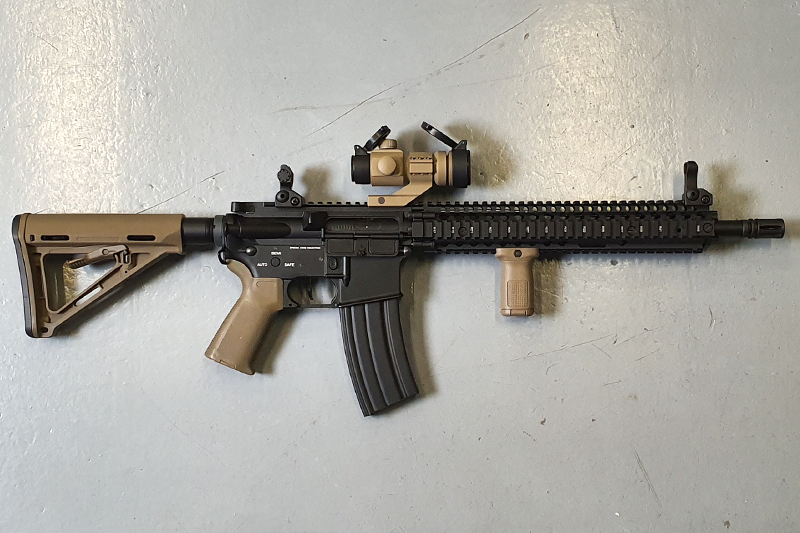 "Réplique MK18 Daniel Defense 12"" Full upgrade Custom"