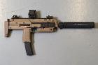 Réplique MP7A1 GBBR Tan Tokyo Marui Upgrade Custom