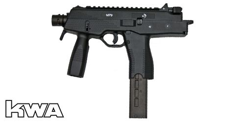 Réplique MP9A1 Black B&T KWA Blowback Gaz