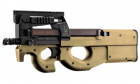 Réplique airsoft P90 Tribute GIGN Tan BO-Dynamics en partenariat avec king arms.