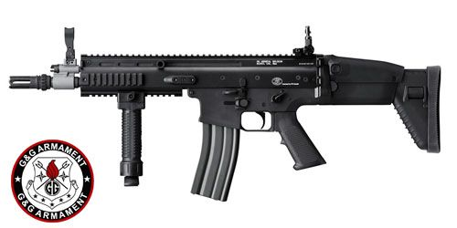 Réplique SCAR Black FN HERSTAL G&G Armament - 1