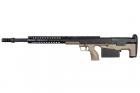Réplique sniper HTI.50 BMG Pull Noir / FDE Silverback spring