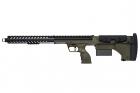 "Réplique airsoft sniper SRS A1 22"" OD SILVERBACK spring desert tech"