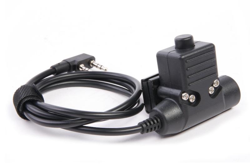 Roger Tech 406 PTT (AUX to Raido Port) - Kenwood Version for EVO406-C / EVO406-UE