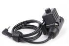 Roger Tech 406 PTT AUX to Raido Port - Motorola 1 Pin Version
