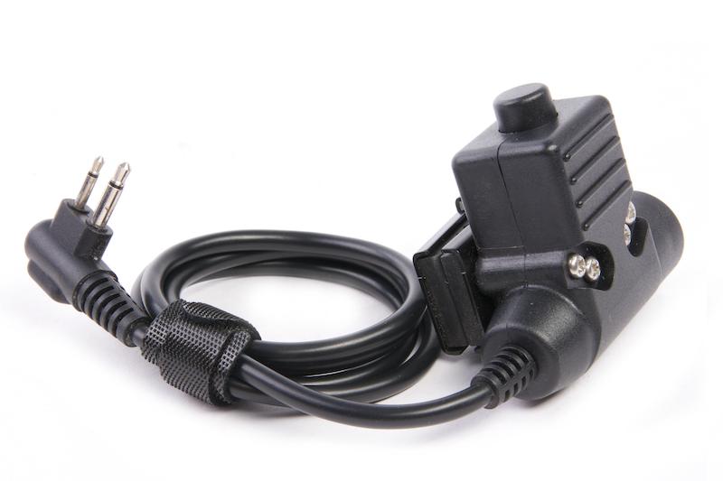 Roger Tech 406 PTT AUX to Raido Port - Motorola 2 Pin Version