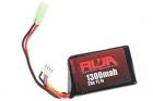 RWA 11.1V 1300mAh (20C) PEQ LiPo Rechargeable Battery (Small Tamiya)