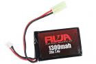 RWA 7.4V 1300mAh (20C) PEQ LiPo Rechargeable Battery (Small Tamiya)
