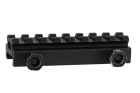S-TACTICAL 8 SLOT WEAVER RAIL 1/2 INCH RISER (JS-S18)