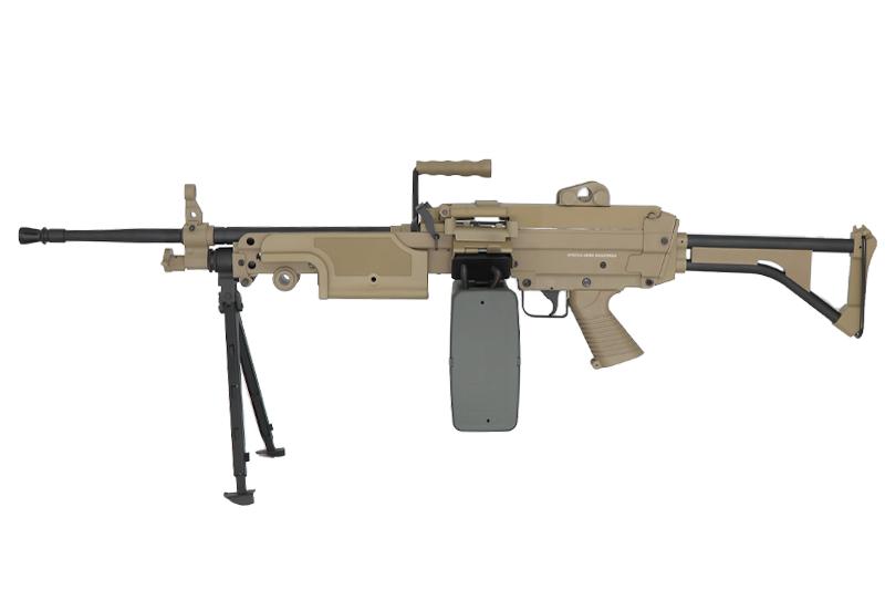 SA-249 MK1 CORE™ Machine Gun Replica - Tan