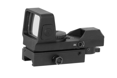 Sable 1x25x34 4 Reticles Red & Green Dot Sight