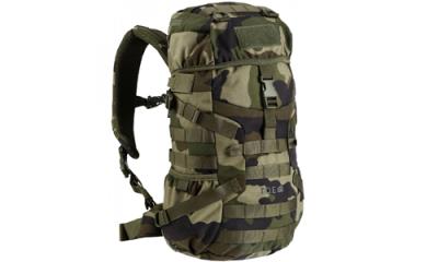 sac dos militaire exp dition 15 litres camo ce toe. Black Bedroom Furniture Sets. Home Design Ideas