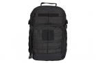 Sac à dos Rush 12h Black 5.11 tactical, idéal pour les activités outdoor, l'airsoft et les militaires