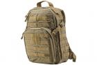Sac à dos Rush 12h Desert 5.11 tactical, idéal pour les activités outdoor, l'airsoft et les militaires