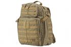 Sac à dos Rush 24h Desert 5.11 tactical idéal pour les militaires, forces de police et l'airsoft