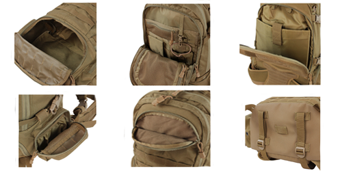 Sac à dos Titan Assault Pack Tan Condor