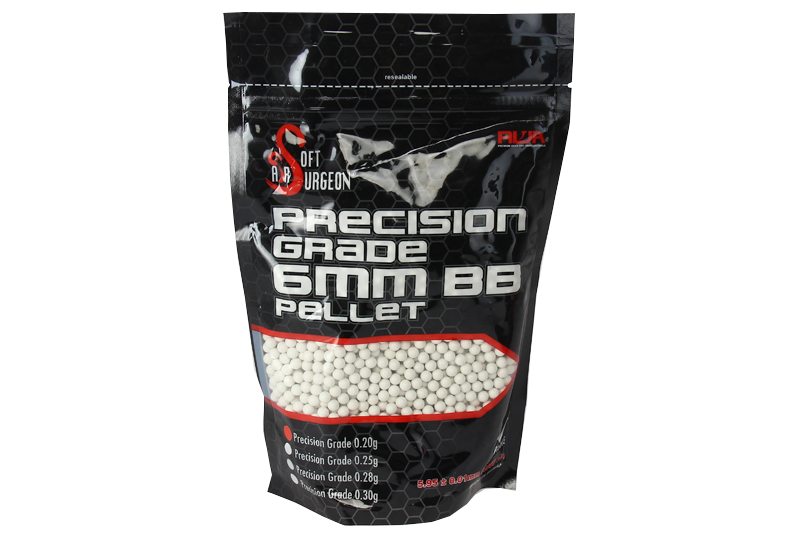 Sachet de 4000 billes 0.20g RWA AIRSOFT SURGEON