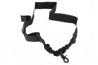 Sangle 1 point EmersonGear Single point bungee sling BK