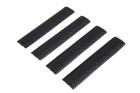 Set of 4 RIS Rail Covers - Black