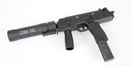 Silencer QD pour MP9 B&T ASG