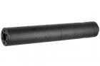 Silencieux aluminium 195mm Dot Mock noir
