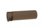 SOCOM556 MINI DUMMY SILENCER - FDE Angry Gun