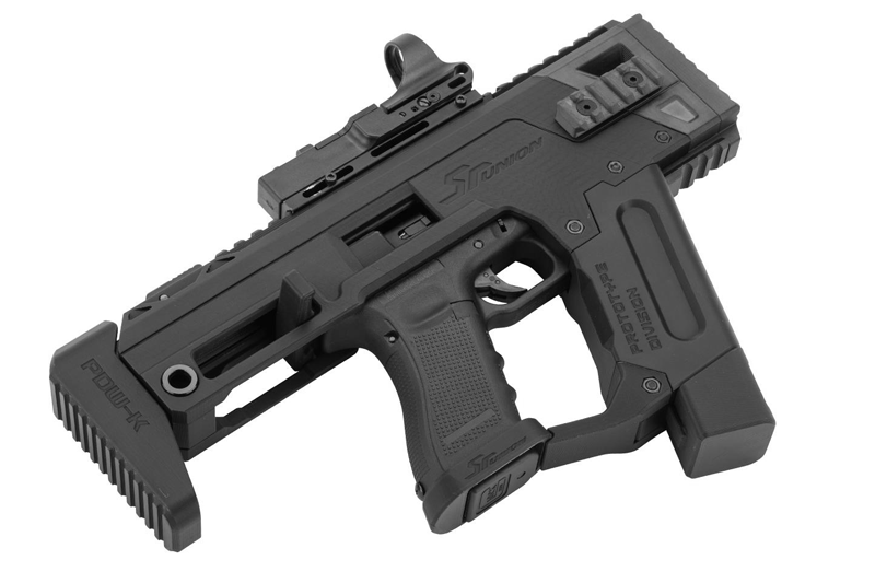 SR GLOCK PDW SMG KIT for Glock TM AEP G18/ WE TM KSC GBB G17/18/34/35