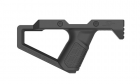 SR Q FRONT GRIP-Black