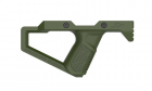 SR Q FRONT GRIP-OD Green