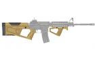 SR Q set ( stock & front grip)-TAN