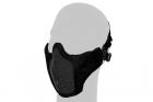 Stalker PDW Half Face Protective MESH Mask/BK